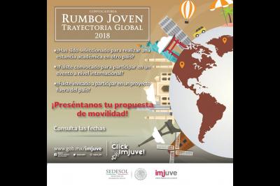 RUMBO JOVEN TRAYECTORIA GLOBAL 2018