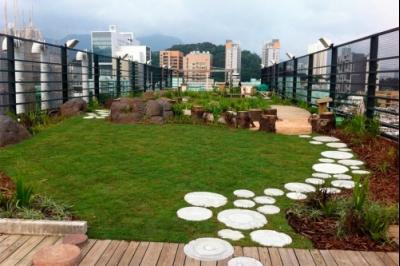 Reverdecen la ciudad con Internet de las Cosas, murales y azoteas verdes