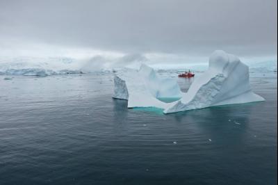 El deshielo en los mares antárticos favorece la formación de nubes