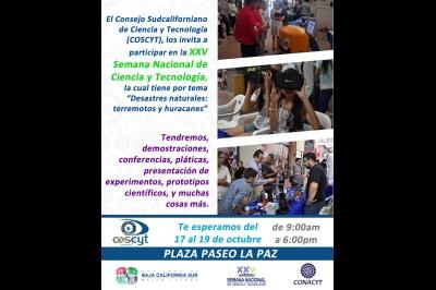 25 Semana Nacional de Ciencia y Tecnología